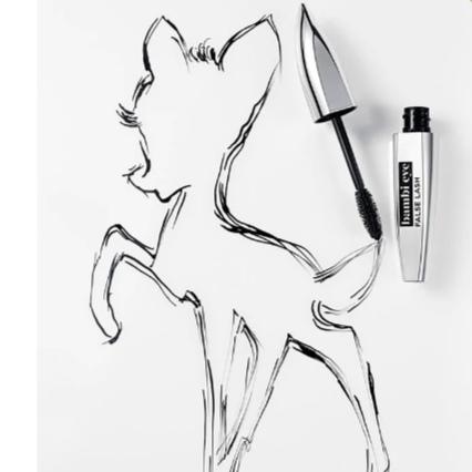 Máscara de pestañas loreal bambi