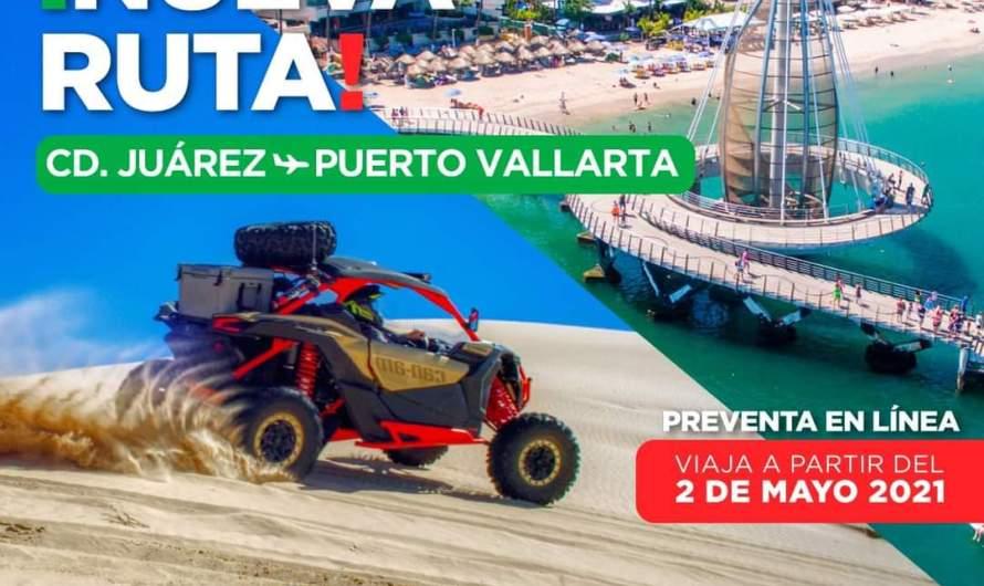 Anuncia Viva Aerobus ruta Ciudad Juárez – Puerto Vallarta