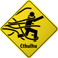 Cthulhu Warning Sign