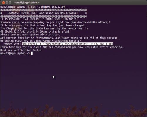 error-SSH