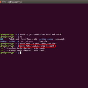 optimizar SAMBA  NAS o servidor casero en la Raspberry Pi 12