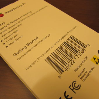 raspberry pi model a+ parcel