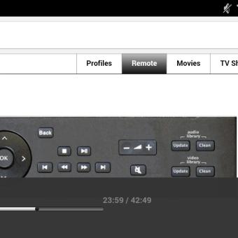 Controlar Kodi vía web