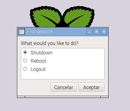 shutdown-menu-raspbian