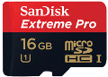 SanDisk Extreme Pro 16 GB UHS-I