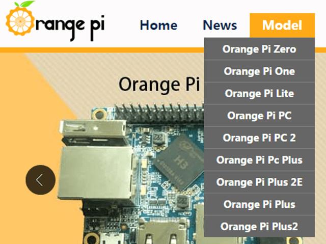 Recomendación de las Orange Pi