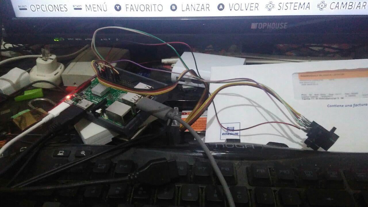 Mando de megadrive en la raspberry pi por gpio for Conectar botones arcade a raspberry pi 3