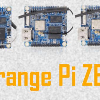 Sobre las Orange Pi ZERO / ZERO Plus 2 / ZERO Plus 2 H5