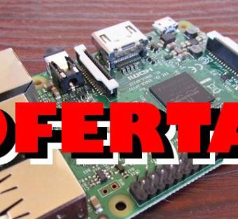 #BlackFriday y #CyberMonday OFERTA en amazon Raspberry Pi 3 por 34,25€