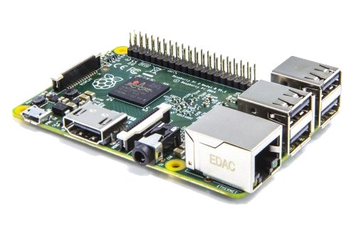 Raspberry Pi 2 Model B (Quad-Core ARM Cortex-A7 CPU 900MHz, 1024MB RAM)