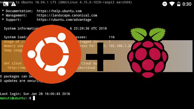 Probando Ubuntu Oficial en la Raspberry Pi
