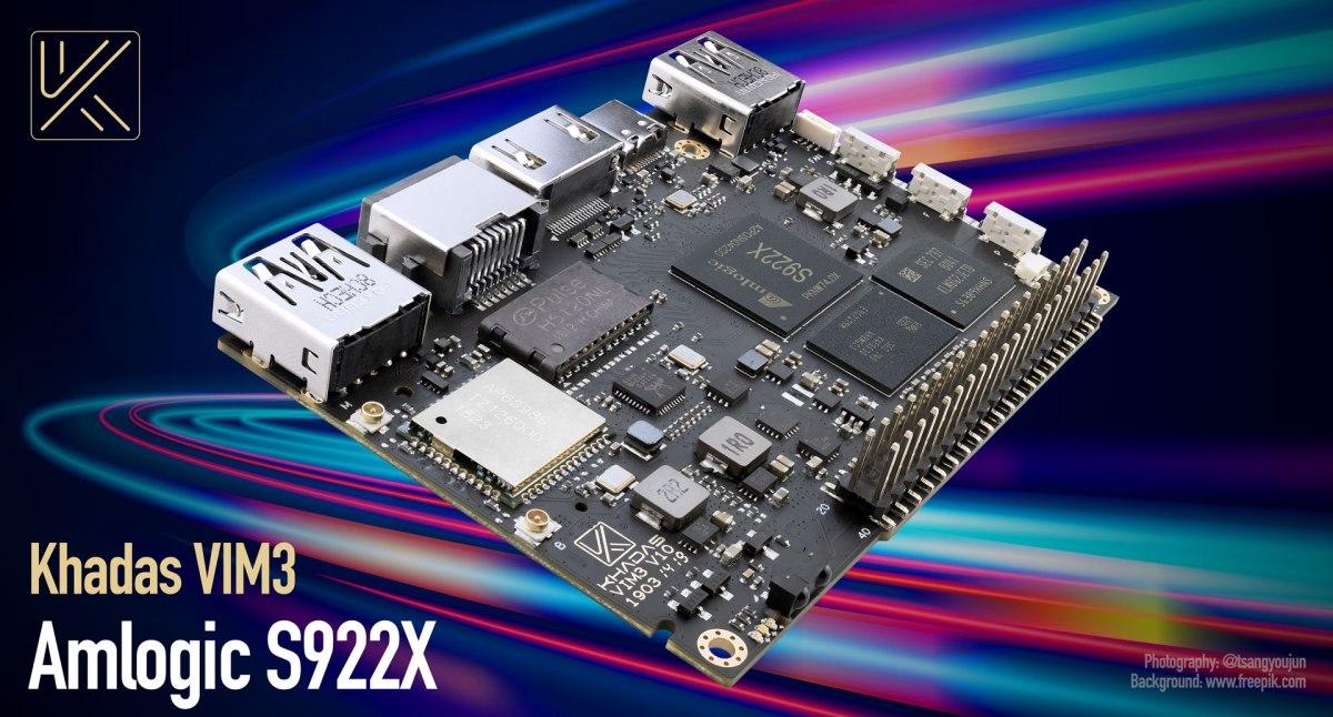 Rivales Raspberry Pi: Khadas VIM3