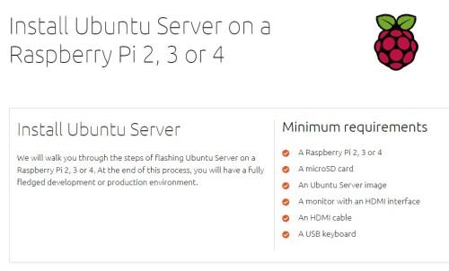 ubuntu 19.10 raspberry pi