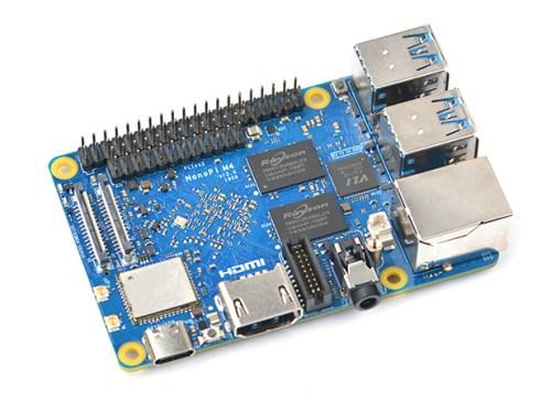 NanoPi M4V2 con SoC de Rockchip RK3399