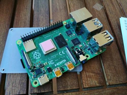 raspberry pi 4 de 8GB de RAM