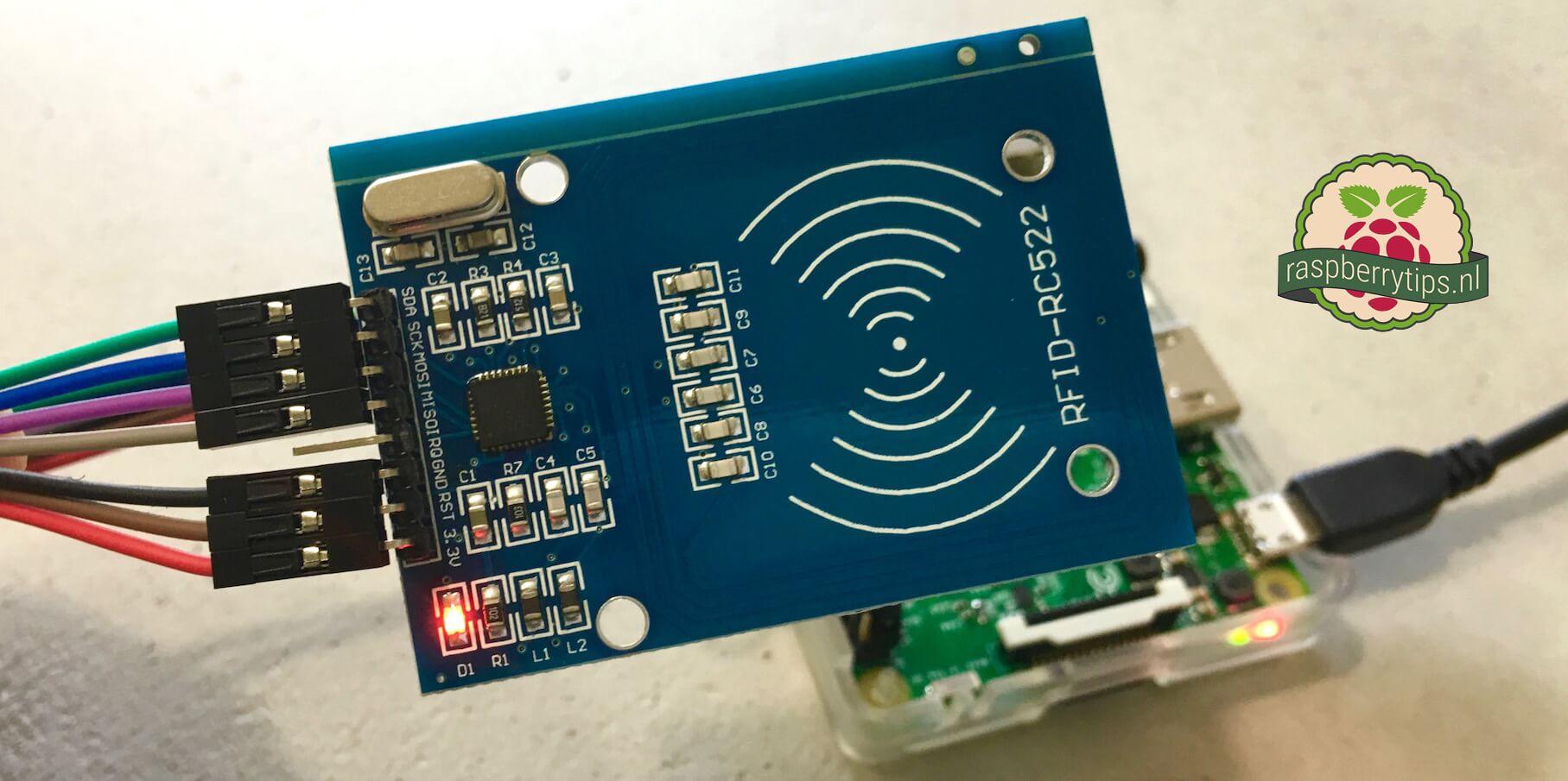 RC522 RFID lezer aansluiten op een Raspberry Pi en uitlezen