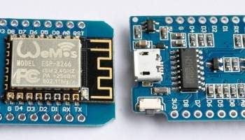 Heart-rate monitor uses a Wemos, a small OLED display and