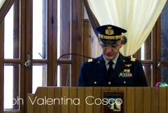 Vice Comandante e Capo di Stato Maggiore del Comando delle Scuole dell'Aeronautica MilitareTerza Regione Aerea Generale di Divisione Aerea Vitantonio Cormio. ph. Valentina Cosco