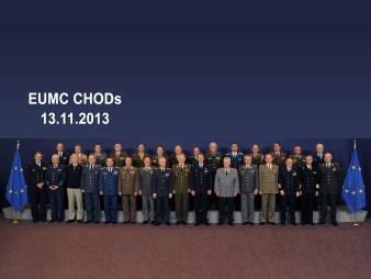 CHODs : Meeting of the EU Chiefs of Defence - CHODs: Réunion de