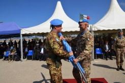 13.10.2014 ToA Unifil Sector West - Gen. DEL COL riceve la Bandiera dell'ONU(8)