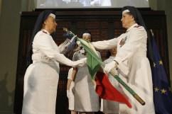 Cerimonia cambio di Comando del Corpo delle Infermiere Volontarie della Croce Rossa