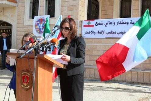 discorso primo segretario ambasciata Palma d'ambrosio