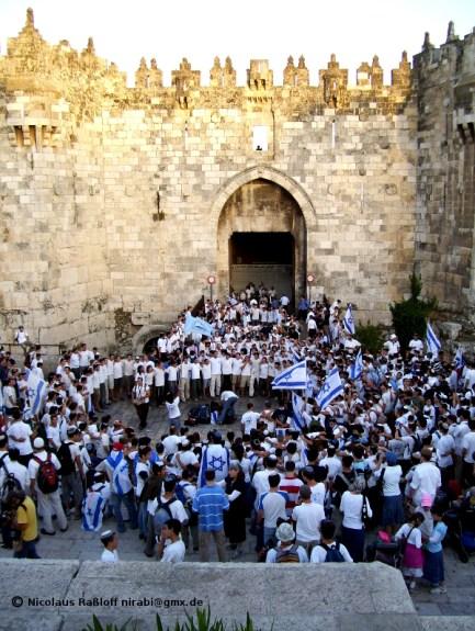 Extremisten beim Jerusalemtag