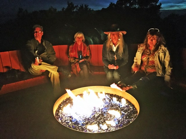 Fire Pit at Party