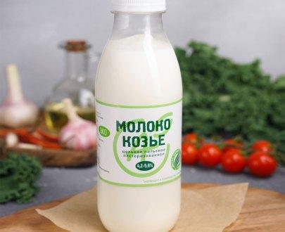 Козье молоко 4,2-5,6% в СПб