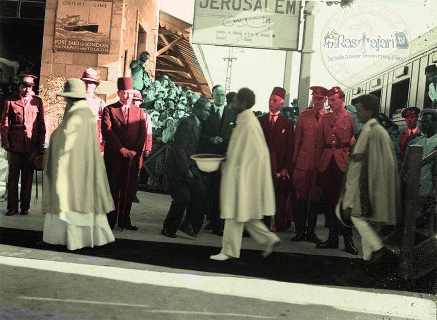 colorized-rastafari-tv-network-Empress-Menen-Jerusalem-Palestine-Haile-Selassie-I