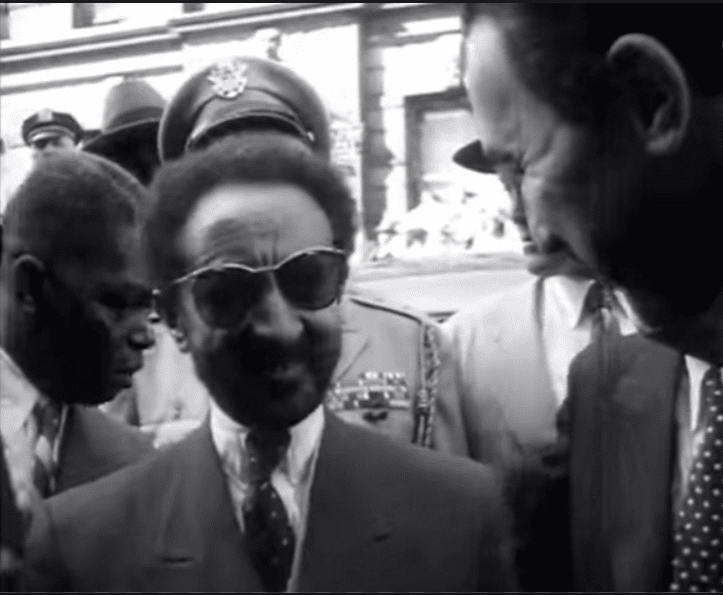 haile selassie sightseeing new york 1954 rastarfari tv