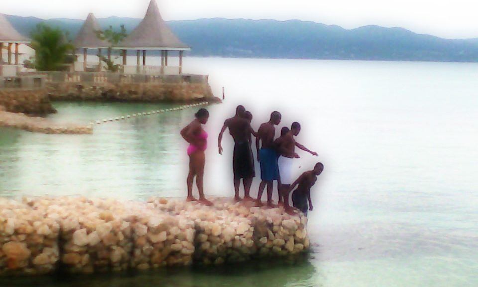 rastafari tv sponsors youth beach day montego bay2