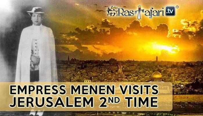 empress-menen-visits-jerusalem-rastafari-tv