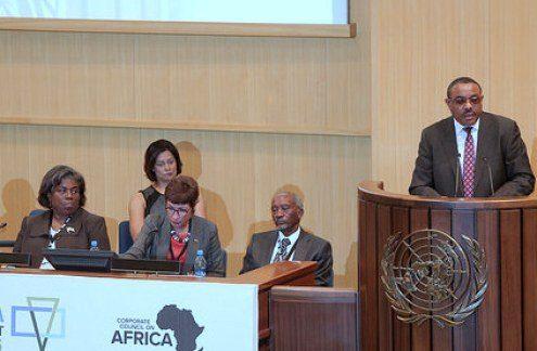HAILE MARIAM ETHIOPIA PRIME MINISTER