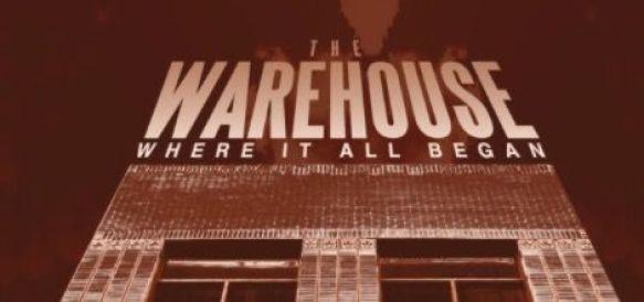 The warehouse poster-dj residente