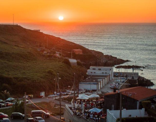 O´Portiño photo sunset