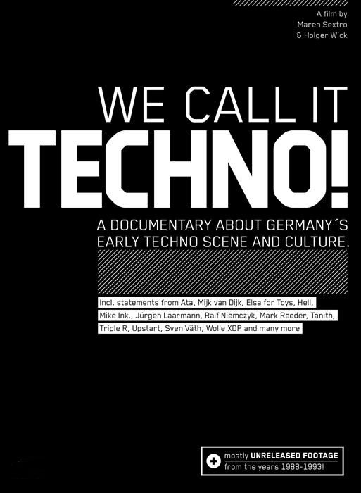 we call it techno poster