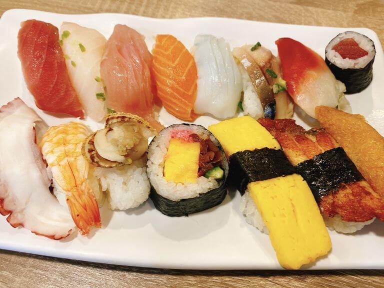ラスベガスで人気!マキノのお寿司食べ放題は日本人に嬉しい安定感バツグンの味