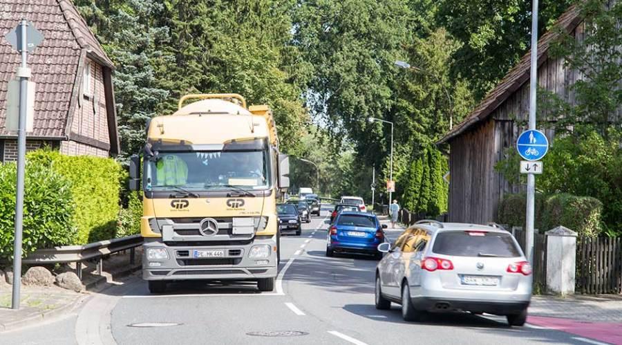 Verkehrsentwicklung in Celle.