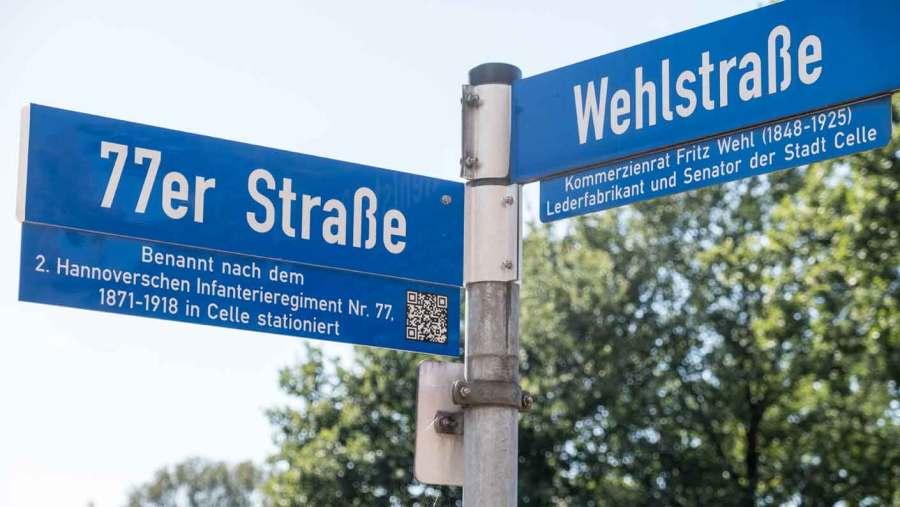 Nahversorger für die Einwohner im Bereich der 77er-Straße