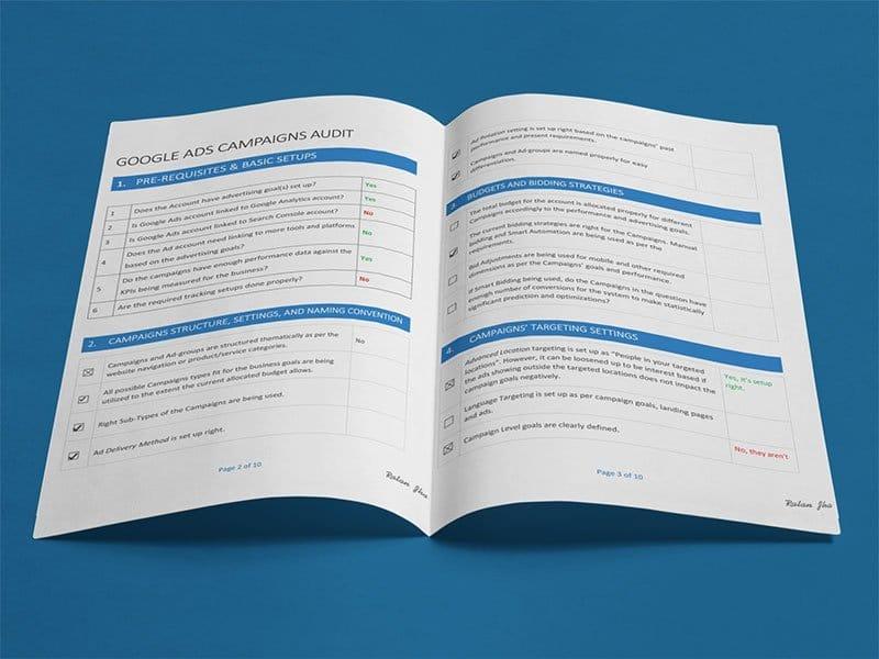 audit report adwords