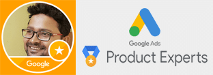 Official Google Ads Product Expert Gold Level