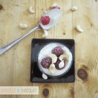 Raw food : yaourt aux noix de cajou