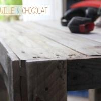 Hard'éco #1 : fabriquer une table de jardin en palettes