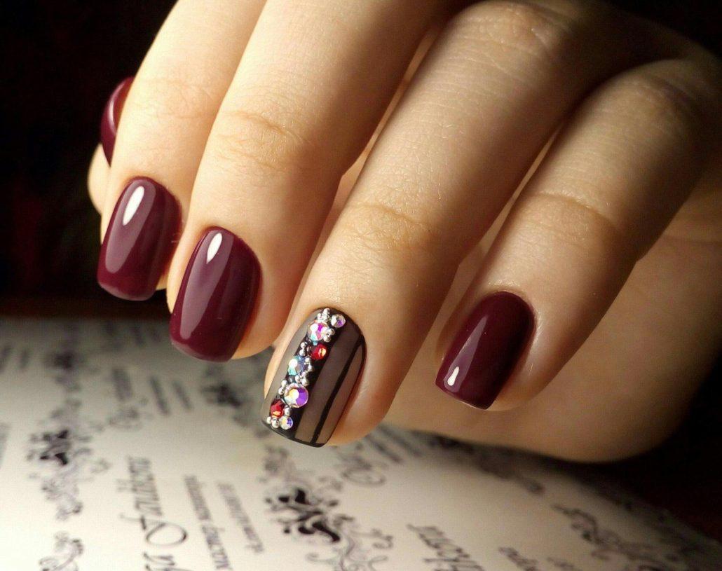 красивый дизайн ногтей на короткие ногти фото 2