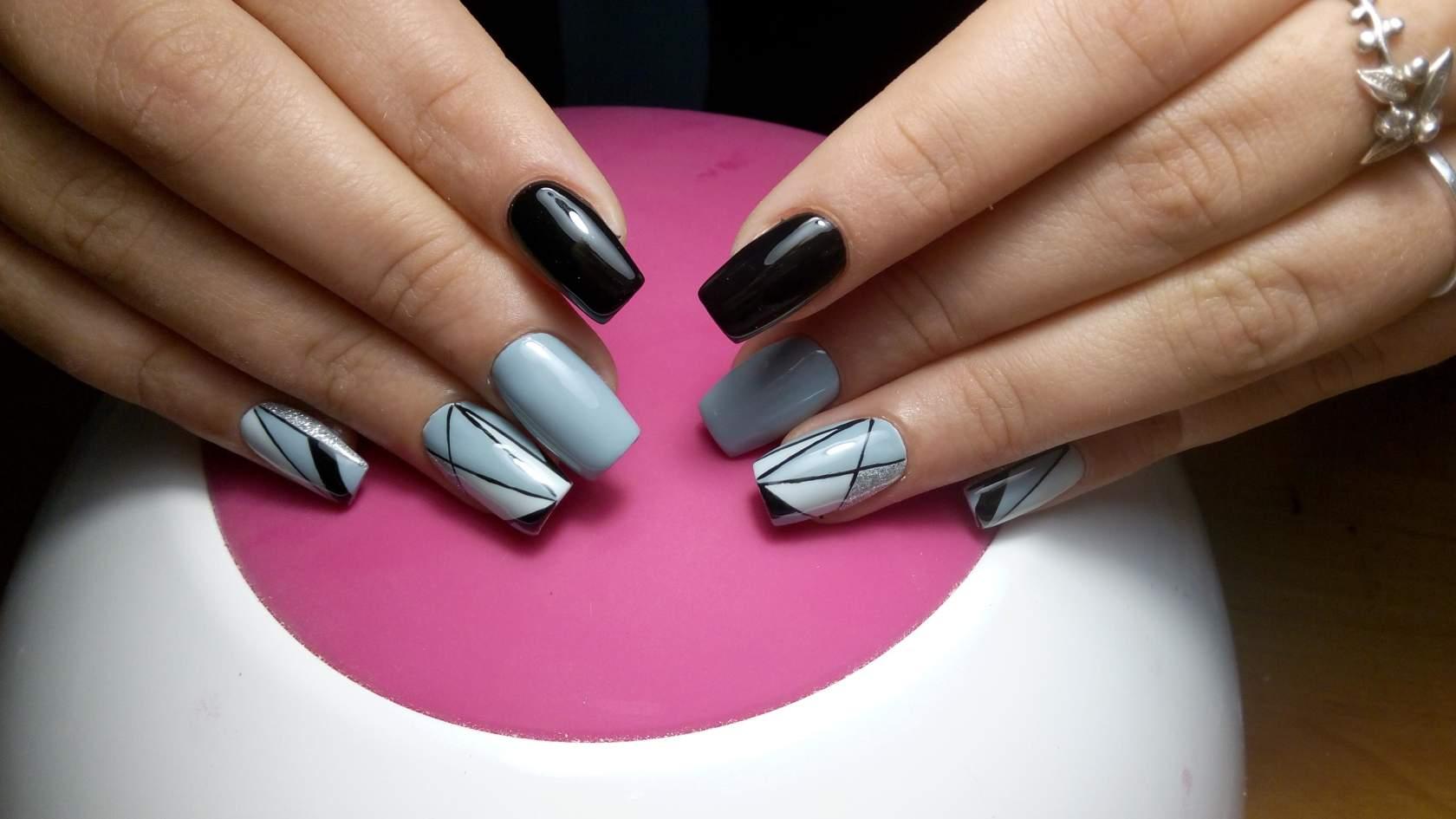 дизайн ногтей весна 3