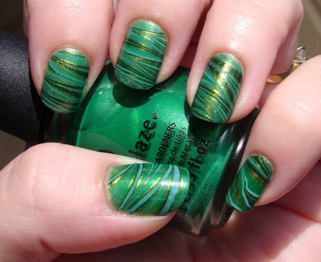 Zielone Opcje Manicure Najlepsze Pomysly 100
