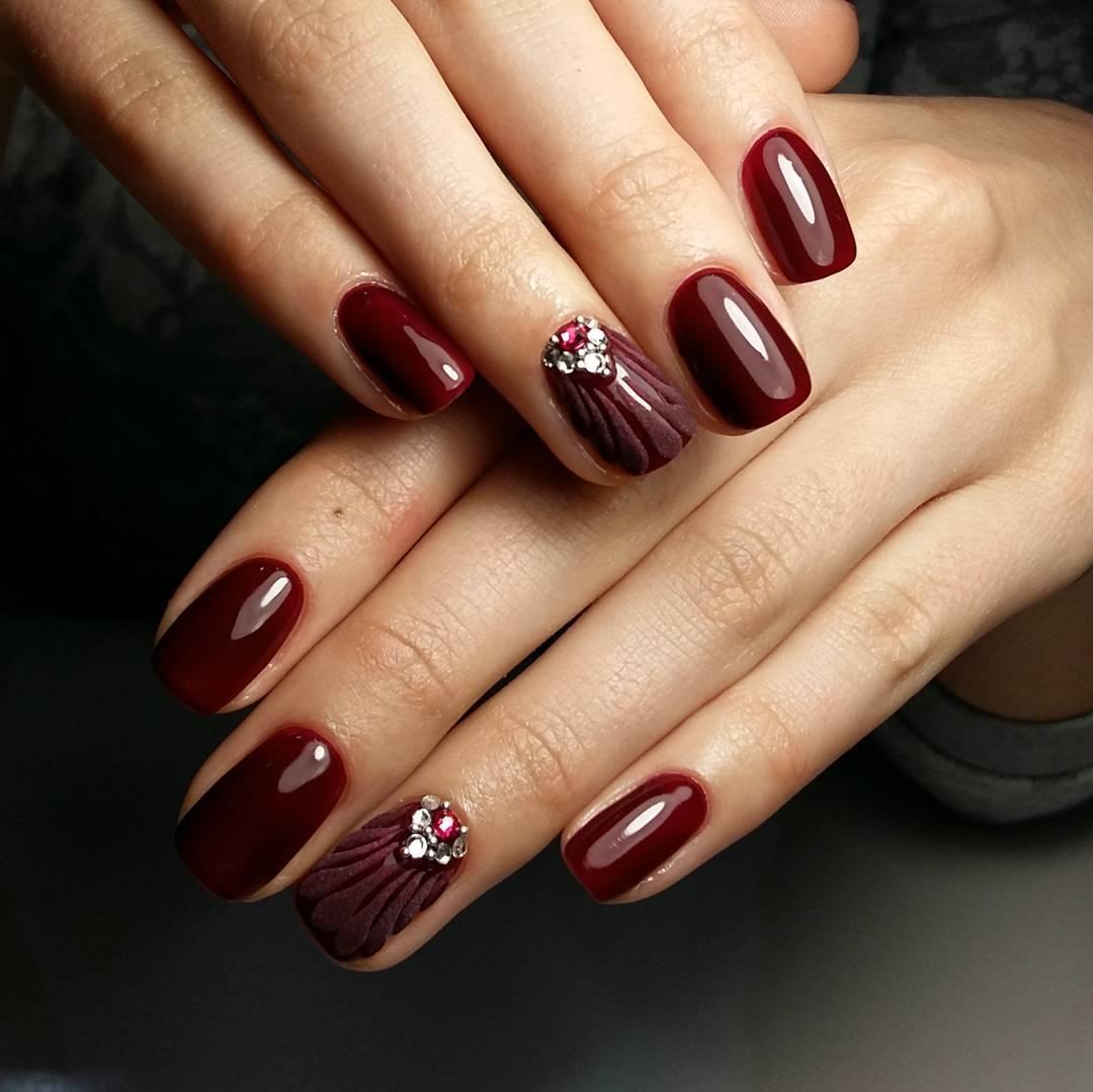 Modny Manicure Jesien Zima Top 10 Stylowe Trendy Pomysly
