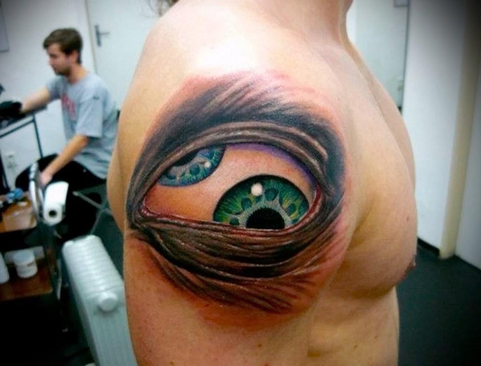 впечатляющее тату глаз значение эскизы фото интересных вариантов
