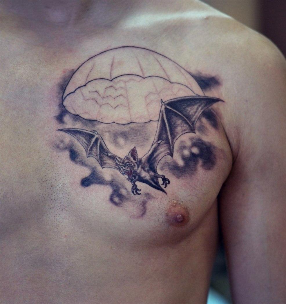 впечатляющие эскизы татуировки летучая мышь значение для мужчин и
